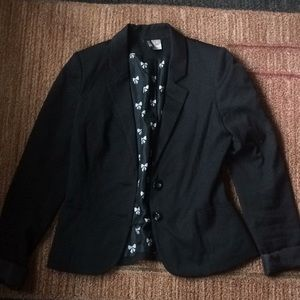 H&M Divided Black Blazer